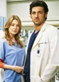 """Dr. Meredith Grey (Ellen Pompeo) and Dr. Derek """"McDreamy"""" Shepherd (Patrick Dempsey)"""