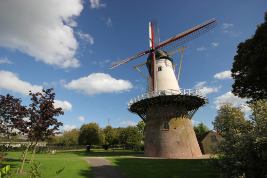 Communal windmill in Wemeldinge