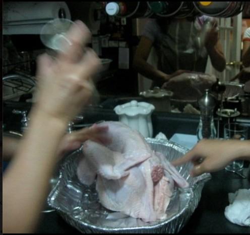Turkey getting ready