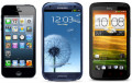 iPhone 5 vs. Samsung Galaxy SIII vs. HTC One X (Comparison of Specs, Features, Hardware, Display, Camera, OS, Software)