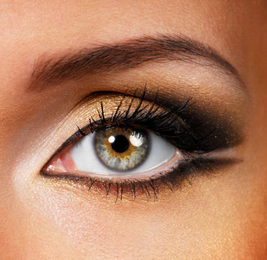 The perfect eyebrow shape that follows the shape of your eyes public domain