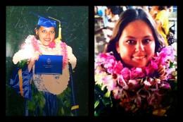 High School graduation ('97) vs. College graduation ('05)
