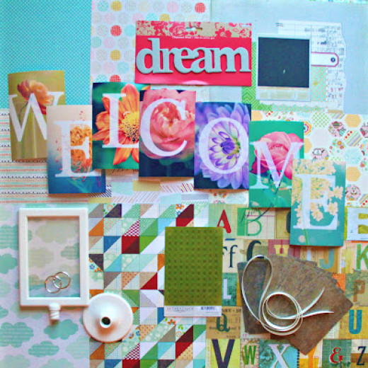 This is the September Monthly Kit that is available for purchase through this blog.
