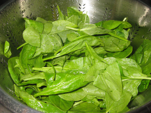 pic of fresh spinach