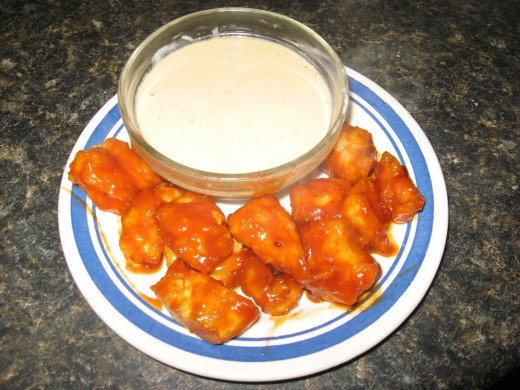 Light Hot Wings Recipe - with low fat Chicken Wing Sauce