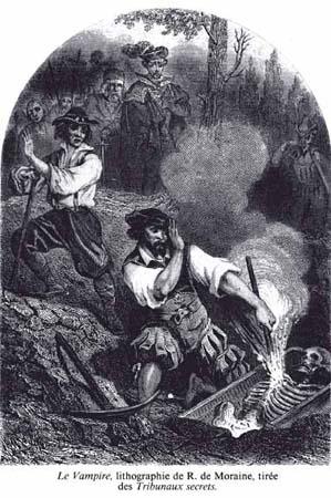 Vampire Clip Art Source: Les Tribunaux Secrets By: R. De Moraine Status: Public Domain in the USA*