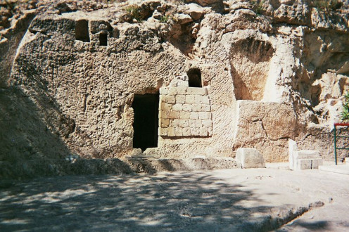The real, garden tomb of Jesus Christ. And guess what? It's still empty.