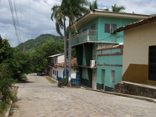 This typical house in Nacaome, a municipality in the Honduran department of Valle, was photographed by by Alfredo Bianco Geymet on June 24, 2008.