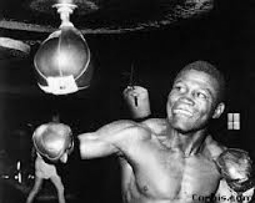 Dick Tiger from Nigeria is a former Middleweight and light heavyweight world champion. He was skilled at fighting on the inside or from a distance.
