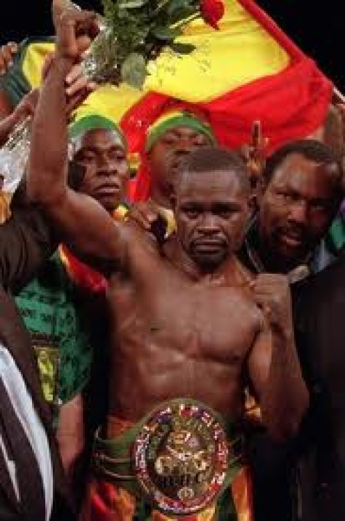 Azumah Nelson was known as the Professor in the boxing ring. His ring generalship was spectacular.