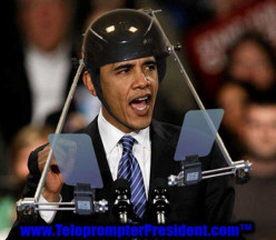 Barack's Teleprompter  Smackdown