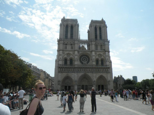 We are all under the same Sun: The Cathedral of Notre Dame, Paris