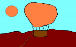 BALLOON TRAVEL WAS ONCE THOUGHT OF AS FANTASTIC.