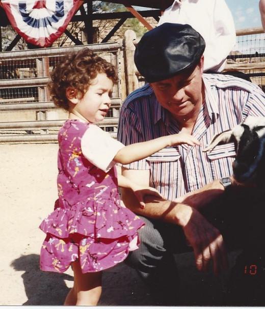 Jasmine & Grandpa