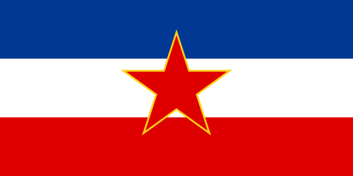 Flag of the Socialist Federal Republic of Yugoslavia