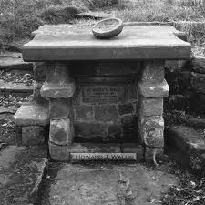 St Hilda's Well at Hinderwell, a blessing for the poor folk who lived here in the 8th Century - she was sister to Oswald and Oswy, kings of Northumbria who fought off Penda's Mercians