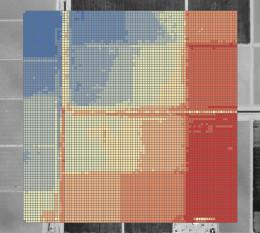 Colorized FLO-2D Elevation Grid