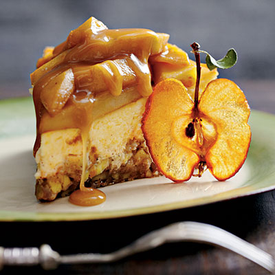 Caramel Apple Brownie Cheesecake, wow!