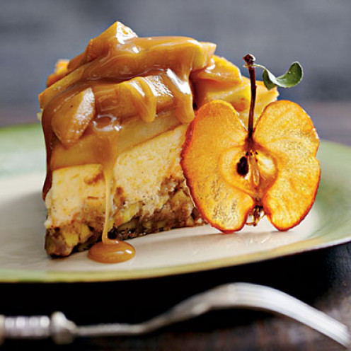 Caramel Apple Brownie Cheesecake, wow!