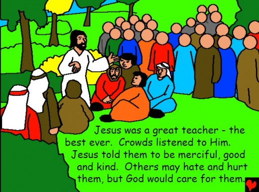 JESUS, The Great Teacher (Photo Credit: http://bibleforchildren.org/. -using Capture-a-Screenshot)