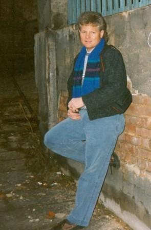 Bill Price in Germany sometime 1991