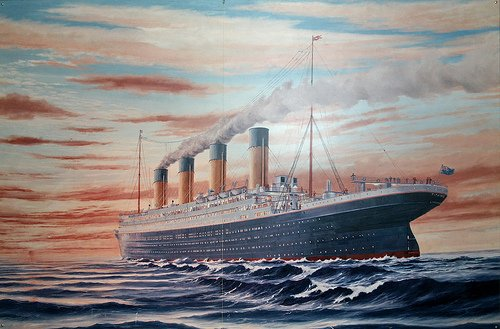 The Titanic, which took so many lives when she sank in the North Atlantic, became a symbol of my own father's death. The motion picture was actually a cathartic event which forced me to deal with the first stages of grief. .