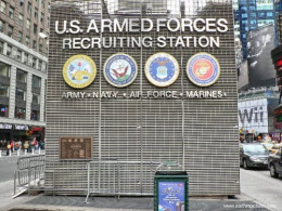 Military Recruiting Station, Times Square