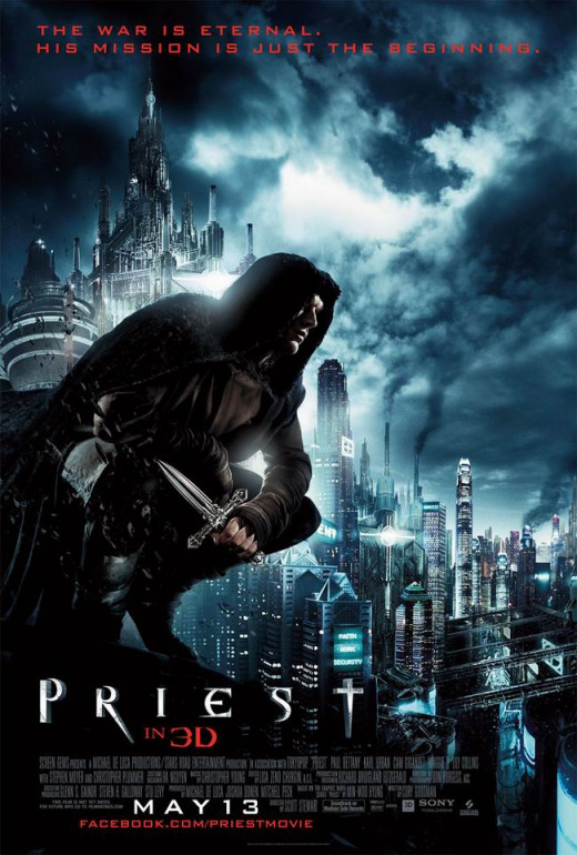 Priest (2011) poster