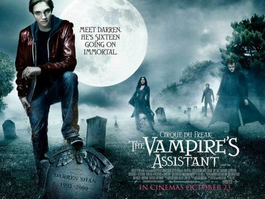 Cirque du Freak: The Vampire's Assistant (2009) poster