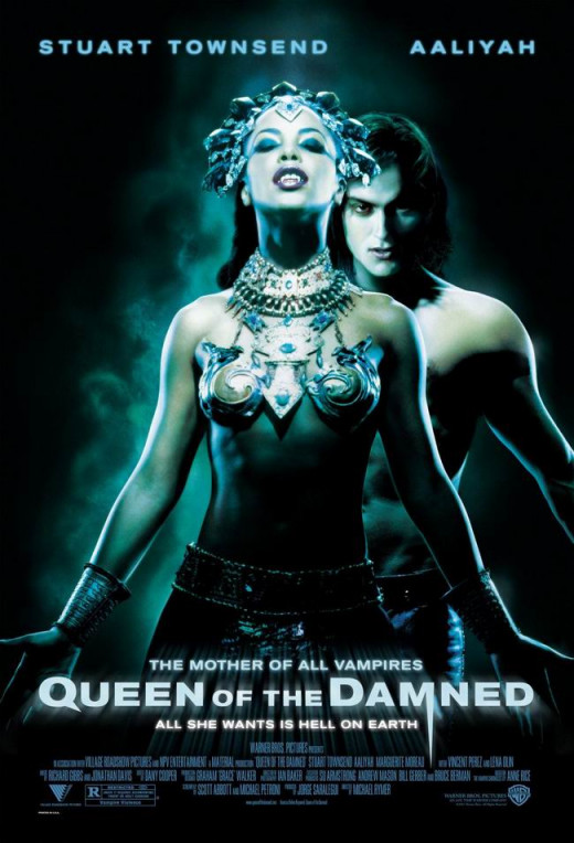 Queen of the Damned (2002) poster