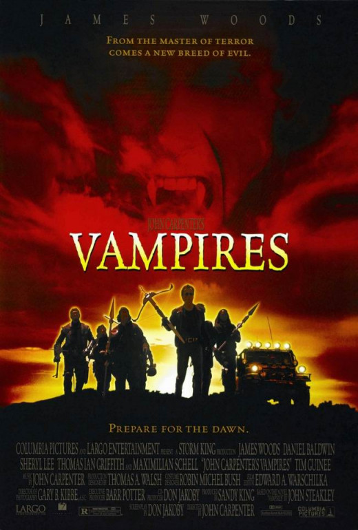 John Carpenter's Vampires (1998) poster
