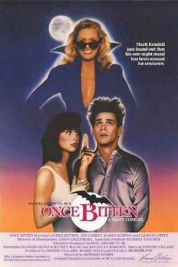 Once Bitten (1985) poster
