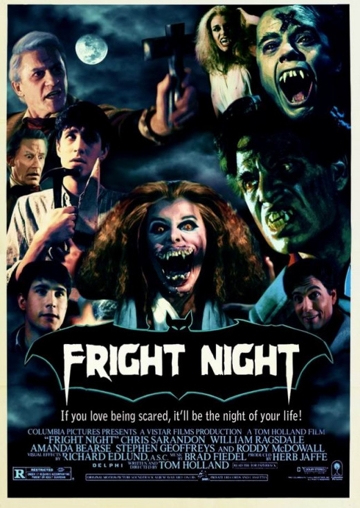 Fright Night (19850 poster