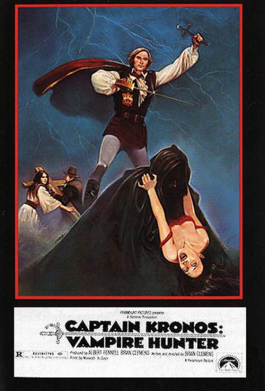 Captain Kronos Vampire Hunter (1974) poster