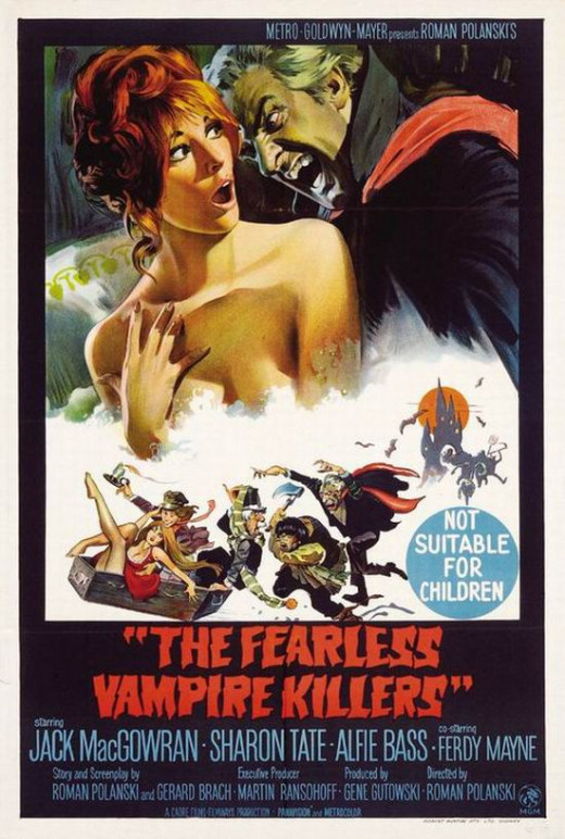 The Fearless Vampire Killers (1967) poster