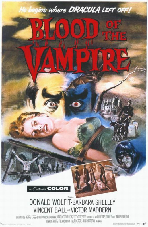 Blood of the Vampire (1958) poster