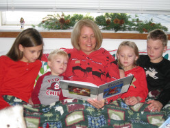 Reading to my grandchildren