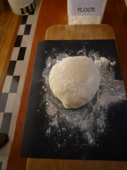 leave the dough to rise