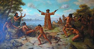 Nicolet was probably the first European to explore Wisconsin