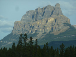 Between Banff and Lake Louise - where awe competes with awe