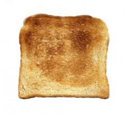 A simple toast is one of the best choices if your goal is to eat the less calories possible.