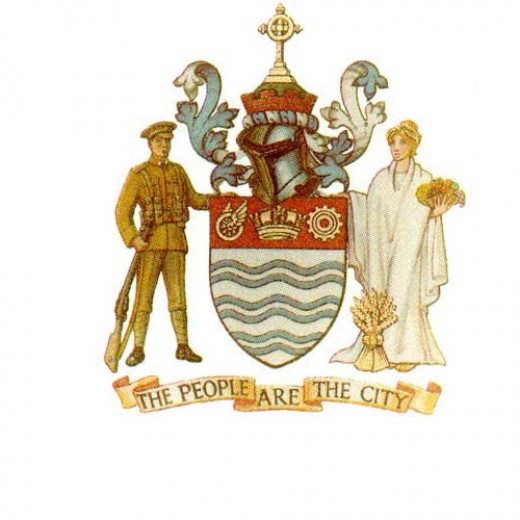 Barrie, Ontario. Coat of Arms.