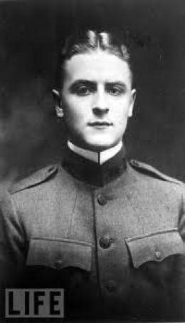F. Scott Fitzgerald as a young man.