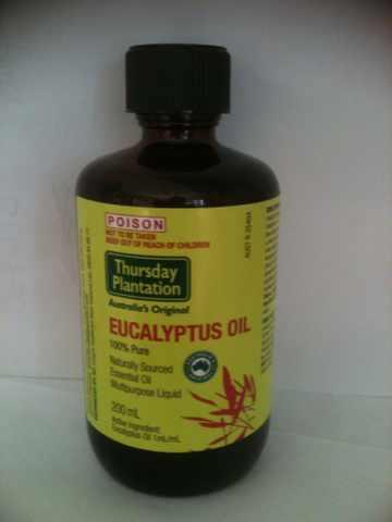 High Grade Australian Eucalyptus Oil