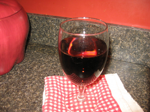 Resveratrol is in red wine.