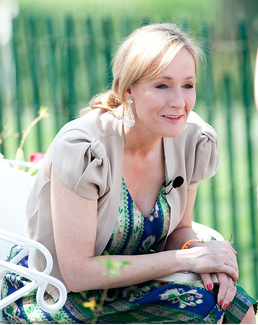 In 2010 on a tour promoting Harry Potter, JK Rowling was already thinking about her next novel, The Casual Vacancy, for adults.