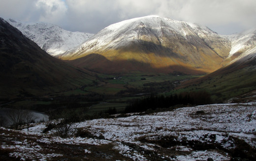 Great Gable in all its glory.