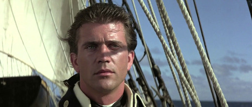 Mel Gibson as Fletcher Christian