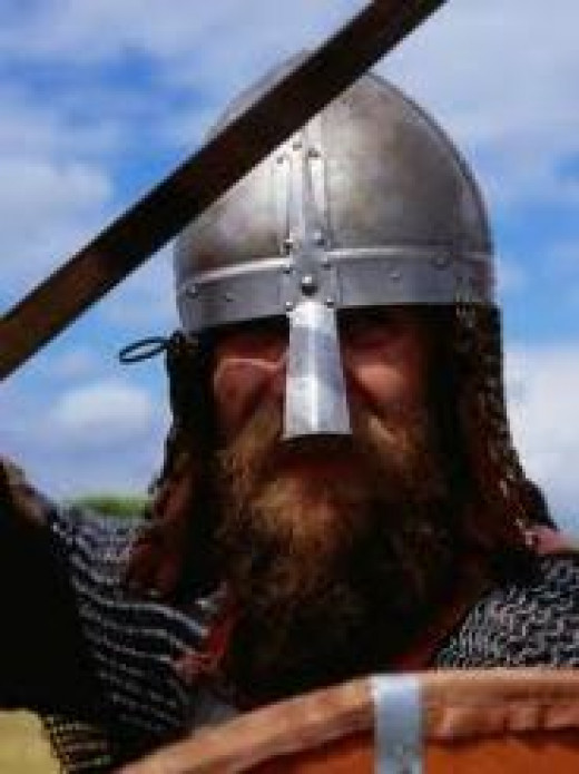 What to do when you see this fine fellow? Fight back the fear and try to stop your knees shaking. If he doesn't kill you outright in combat or spear you running away he'll laugh and tell you to home to Mummy. Still want to be a Viking?