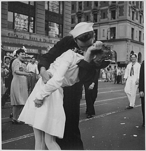 New York City, 8/14/1945